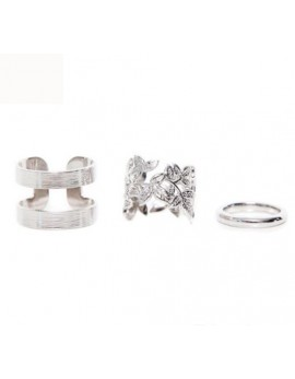 Komplet treh prstanov