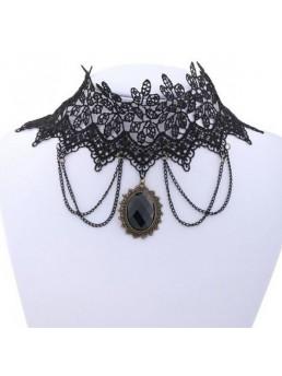 modna verižica gothic retro stil
